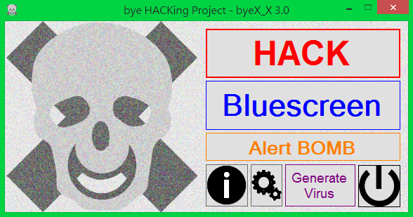 bye HACKing Project (byeX_X) Screenshots