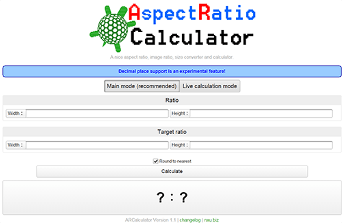 ARCalculator version 1.1 launched